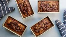 Chocolate and Cinnamon-Swirled Banana Bread to Cure Those Morning Blues