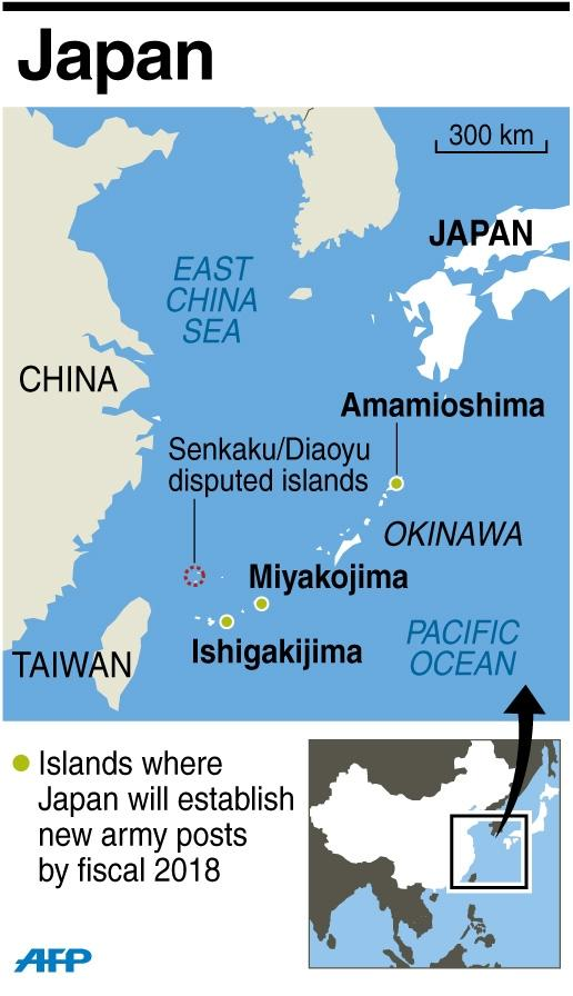 Japan will be taking a seat on the UN Security Council at a time when it is locked in an island dispute with China (AFP Photo/)