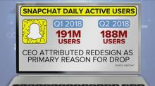 What's behind Snapchat's drop in users?