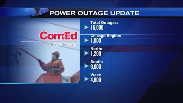 Hundreds of thousands left without power due to Midwest storms