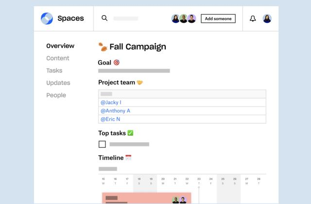 Dropbox's Spaces 2.0 collaboration is out in private beta