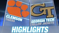 Clemson vs Georgia Tech - April 25 | 2015 ACC Baseball Highlights