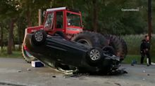 DeKalb woman cited for hayride crash in Kendall County that left 11 injured