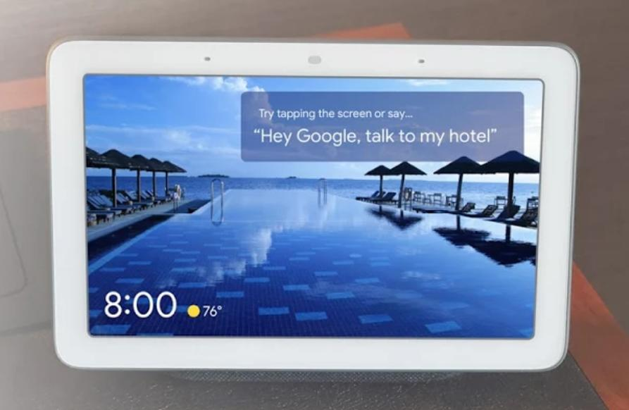 Google's Nest Hub could be your next hotel concierge | Engadget