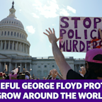 Peaceful George Floyd protests grow across the world