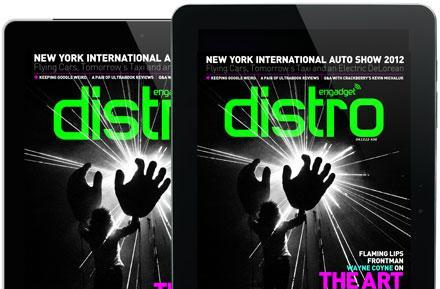 Distro Issue 36 lands with The Flaming Lips frontman Wayne Coyne, the New York International Auto Show, Ultrabooks and Nikon's D4