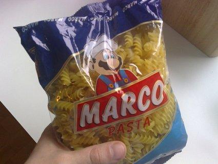 """""""Marco"""" pasta is a good match for mushroom sauce, litigation"""