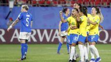 Brazil's Marta sets World Cup goal record
