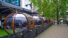 Birmingham restaurant which serves diners in sealed glass 'bubbles' is four times busier than before Covid-19