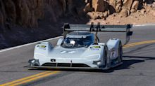 Dumas shatters Pikes Peak record in electric VW