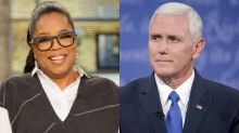 Mike Pence wants Oprah to know he's 'kind of a big deal too' after she campaigns for Stacey Abrams in Georgia
