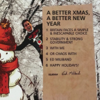 Ed Miliband mocks David Cameron and brings back the 'Ed Stone' in Christmas card