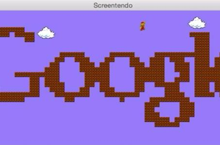 Transform parts of your screen into Mario levels with Screentendo