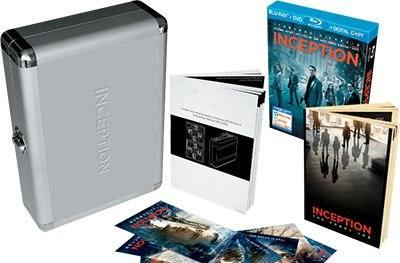 Inception Blu-ray with Limited Edition Briefcase gift set is available in the US