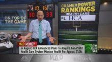 Cramer reveals 5 health-care stocks he likes right now, i...