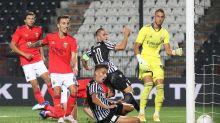 Técnico do PAOK admite que seria difícil passar do Benfica em dois jogos
