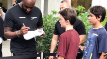 Virgil Abloh, owner of high-end streetwear brand Off-White, in Singapore for launch of Nike collaboration
