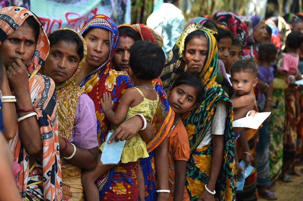 Although far smaller in number than the Muslim influx, Hindus have also fled over the border into Bangladesh to escape communal violence in Myanmar (AFP Photo/DOMINIQUE FAGET)