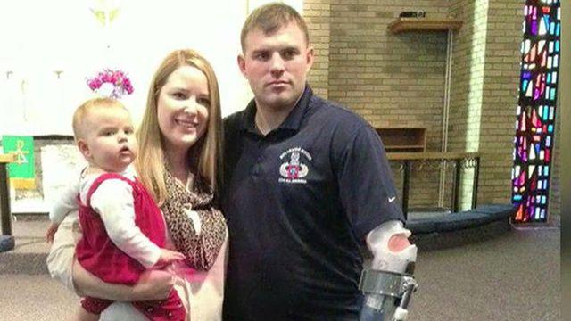 How has life changed for family of quadruple amputee?