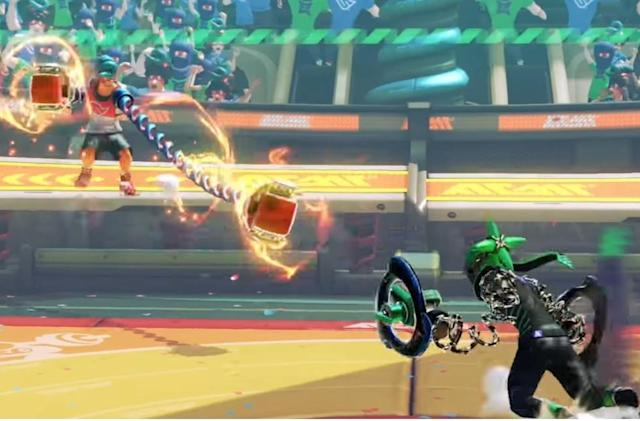 Meet the first fighters of Nintendo's newest franchise, 'Arms'