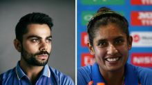 A combined XI of India's men's and women's cricket teams