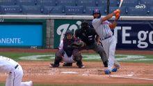 Amed Rosario's solo home run