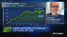 HSBC initiates coverage of KORS, puts $88 price target on...