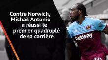 La performance de la semaine - Antonio punit Norwich