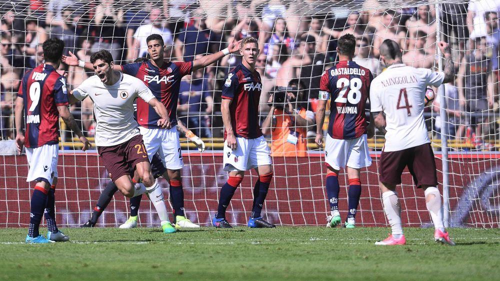 Bologna-Roma 0-3: La Lupa torna a -6 dalla Juve