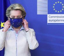 EU 'ready to discuss' COVID vaccine patent waiver, says von der Leyen