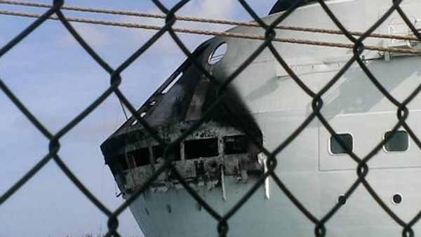 Fire forces cancellation of Royal Caribbean cruise