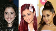 Ariana Grande's look has changed a lot through the years