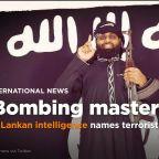 Sri Lankan intelligence names 'bombing mastermind'