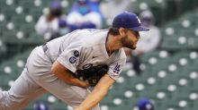 Kershaw goes 1 inning in DH opener, Dodgers swept by Cubs