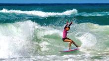 La nueva promesa española del surf tiene 16 años y apunta alto