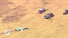 Military: 2 airmen killed in crash at Oklahoma base during training