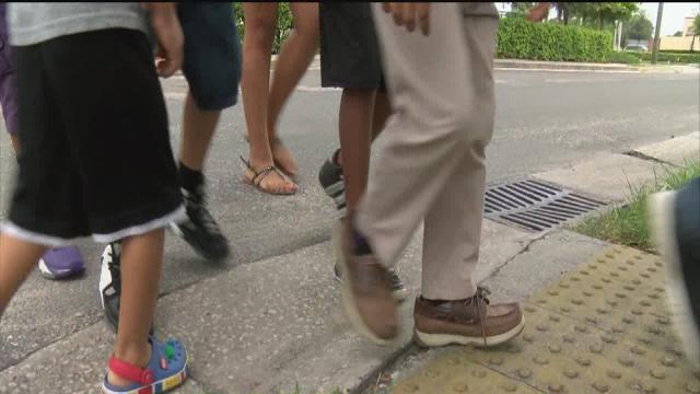 Polk students riding the bus again - we take action after a school bus route was cut over the summer