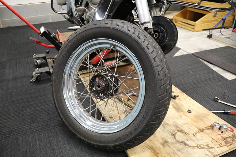 How To Change A Motorcycle Tire At Home (Or On The Fly)