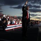 The Latest: Trump claims Biden 'deserted' Pennsylvania