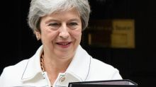 Theresa May appeals to EU to keep Brexit door open