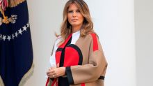 Twitter blows up about Melania Trump's coat