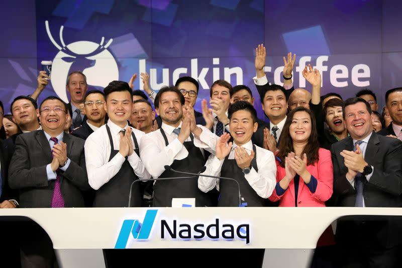 Nasdaq informs China's Luckin Coffee it plans to delist it