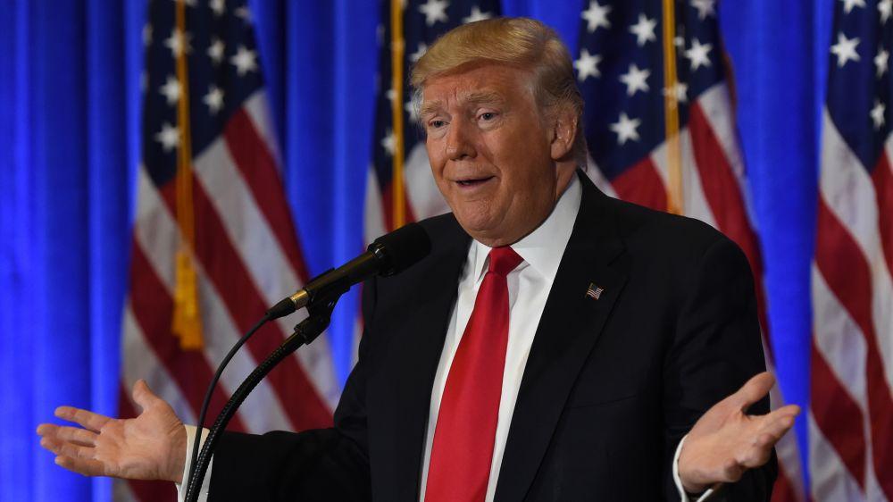 Ist der Sohn von US-Präsident Trump Arsenal-Fan?
