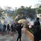 Disruptions across Hong Kong as city braces for another day of protest violence