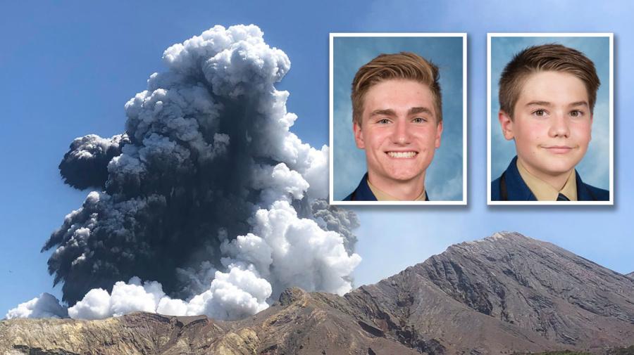 'A DEVASTATING LOSS': Sydney brothers dead in volcano horror