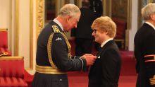 Ed Sheeran Receives Royal Honor From Prince Charles
