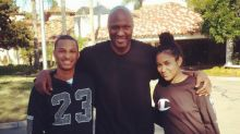 Lamar Odom Shares Sweet Family Pic With His Two Kids: 'No Better Way to End 2016'
