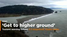 'Get to Higher Ground Immediately.' Tsunami Warning in Alaska After Massive 8.2-Magnitude Earthquake Off Kodiak