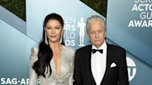 Catherine Zeta Jones and Michael Douglas