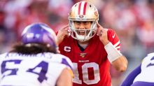 49ers notebook: Garoppolo ditches knee brace, Ward's versatility may get tapped